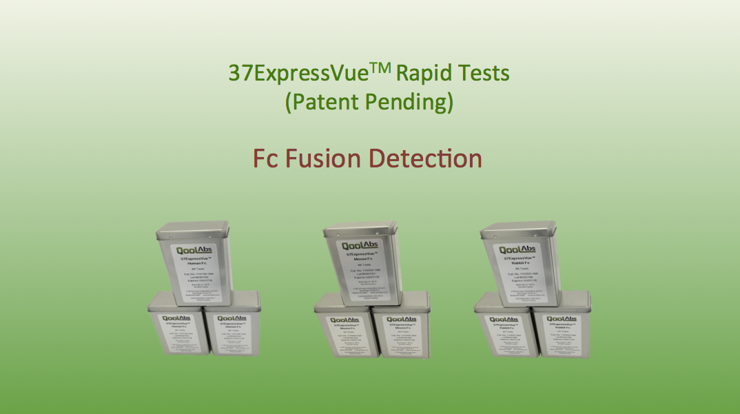 37ExpressVue Rapid Protein Detection Fc Fusion Detection