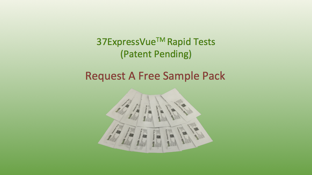 37ExpressVue Rapid Protein Detection Sample Pack Request